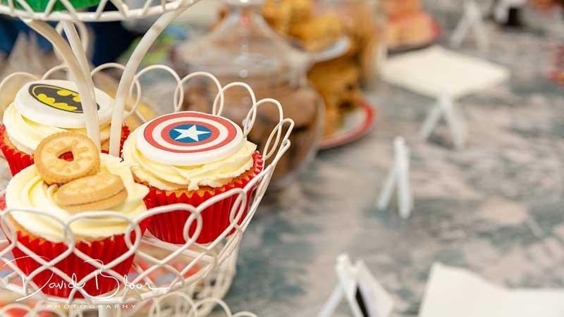 Superheroes Picnic - Cake
