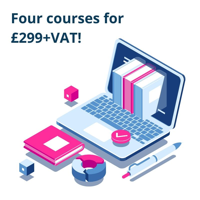 Four courses for £299