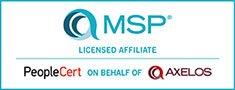 Axelos MSP Affiliate Training Course Provider no pad