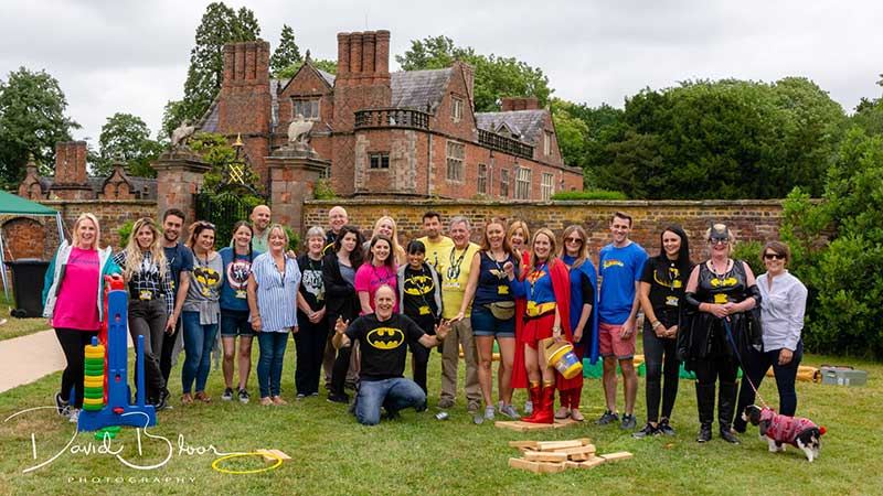 Superheroes Picnic - Team