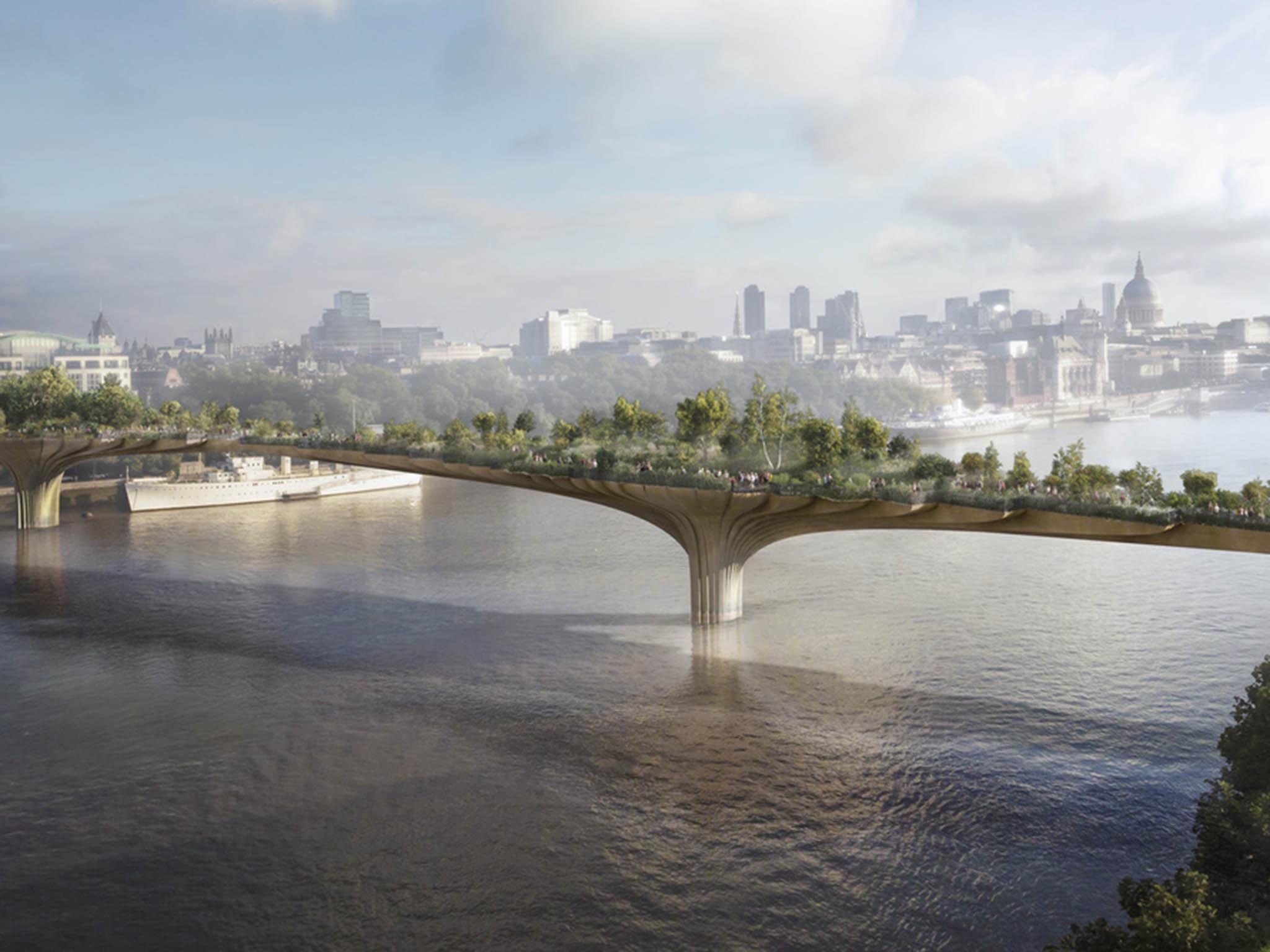 Failed projects, The Garden Bridge