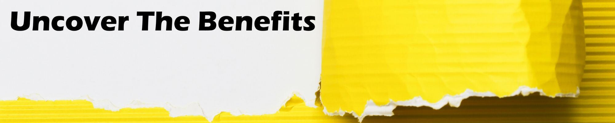 Introduction to managing benefits