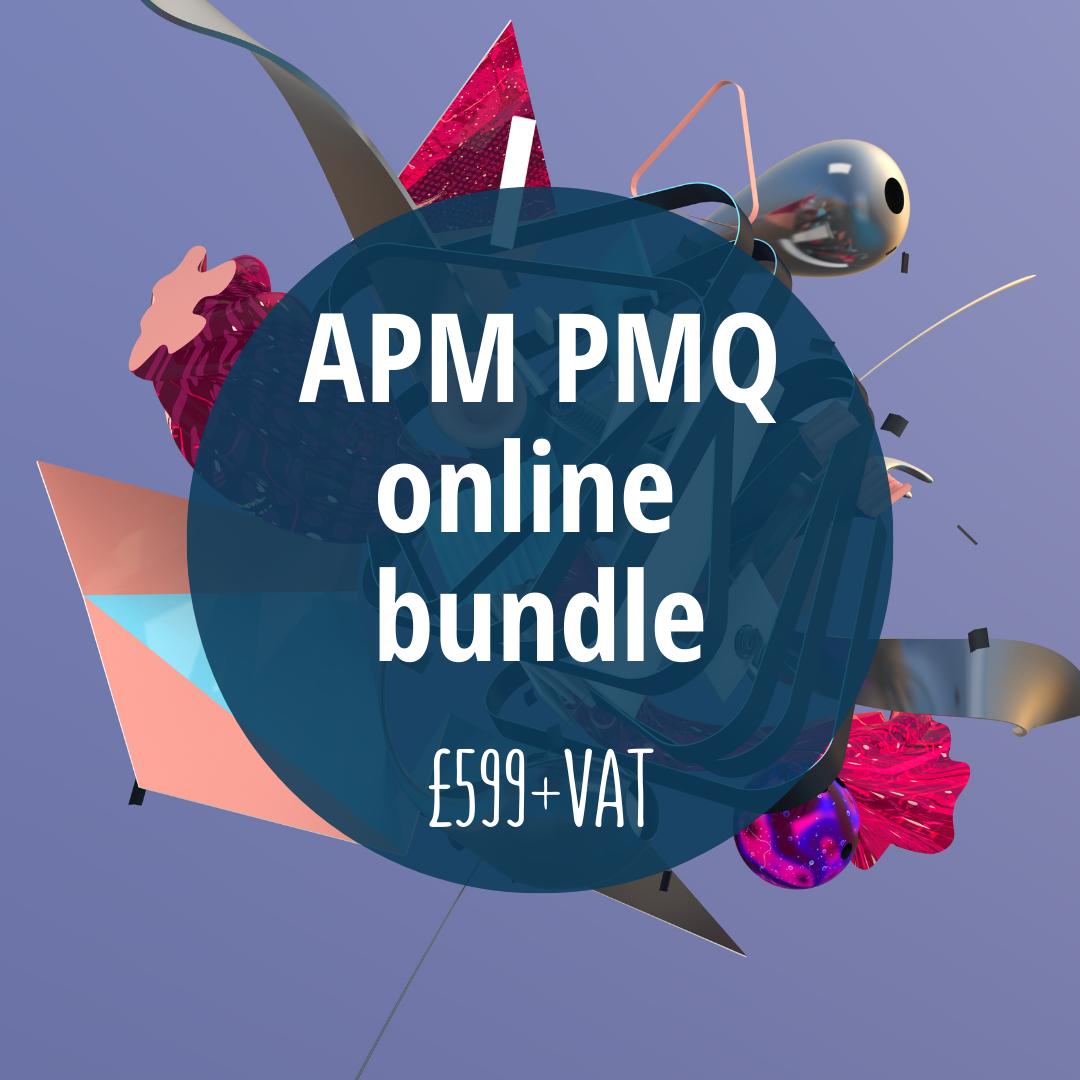 APM PMQ online training offer