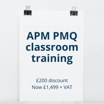 APM PMQ Nantwich classroom training