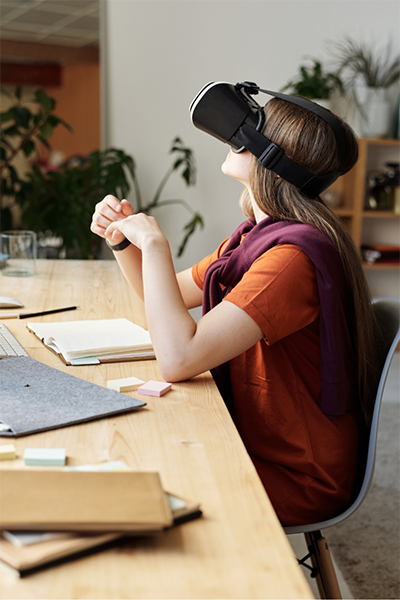 Project management and virtual reality